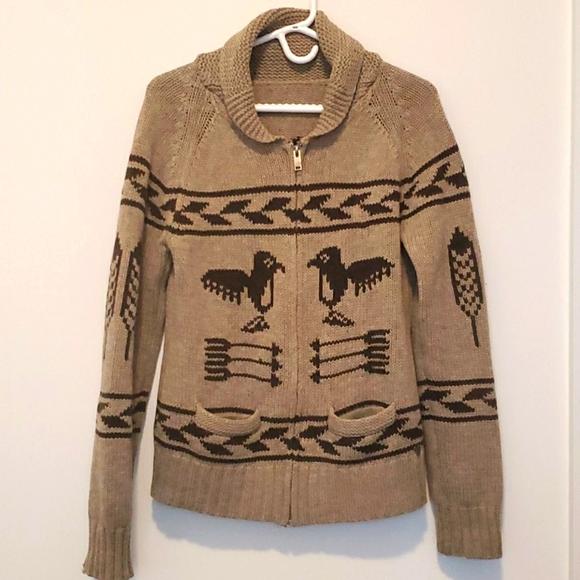 Aritzia - TNA - 100% Lambswool Sea to Sky Sweater